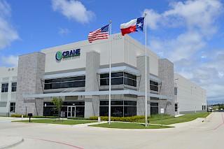 Lagerhalle in Dallas mit Außenhandelszone
