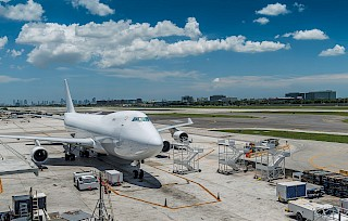 Air freight cargo in Miami
