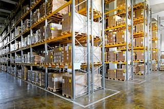 Racks de armazém Chicago, Illinois