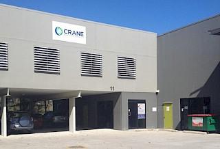 Lager in Brisbane unter dem Markennamen Crane Worldwide Logistics