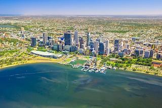 Luftaufnahme von Perth, Australien