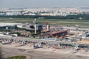 Changi Airport Speditionszentrum SIngapore