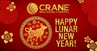 Lunar New Year Karte mit Bild von Ox