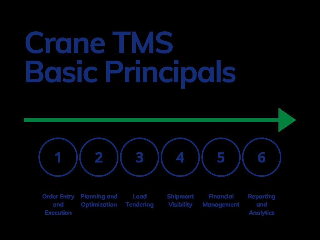 Grundprinzipien des Krans TMS